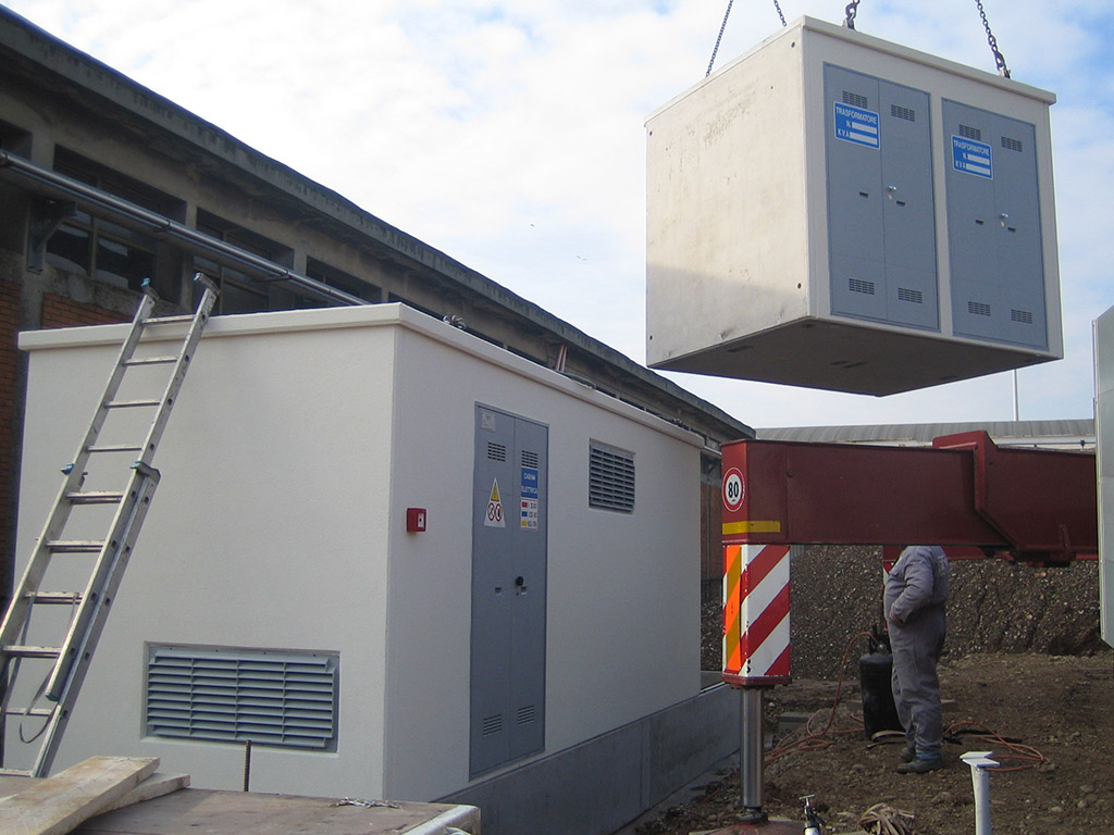 cabina elettrica impianti elettrici settore terziario