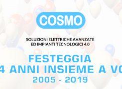 Cosmo Impianti compie 14 anni
